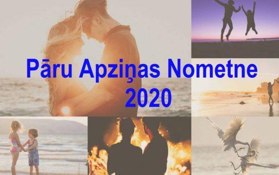 Pāru Apziņas Nometne 2020